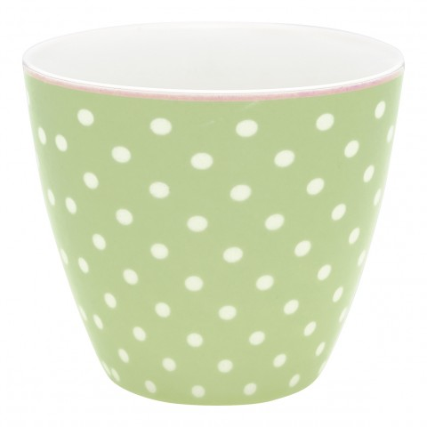 GreenGate Latte Cup Spot pale green