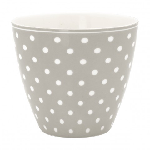 GreenGate Latte Cup Spot grey