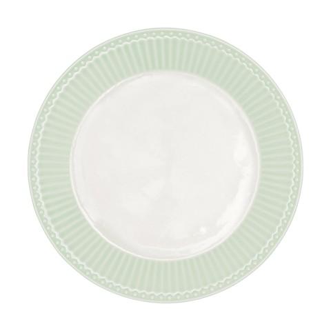 GreenGate Frühstücksteller Alice pale green