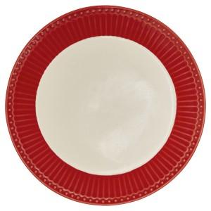 GreenGate Frühstücksteller Alice red