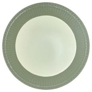 GreenGate Frühstücksteller Alice warm grey
