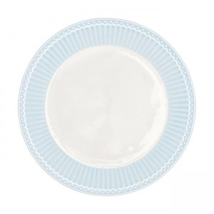 GreenGate Frühstücksteller Alice pale blue