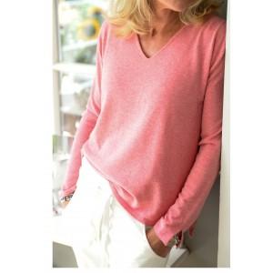 Milano Strickpullover Ariadne pink