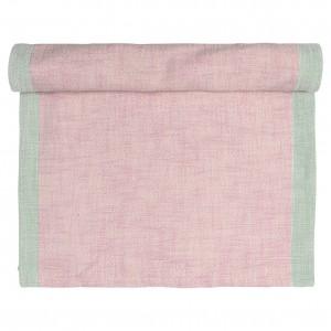 GreenGate Tischläufer Minna pale pink 40x120cm