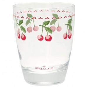 GreenGate Wasserglas Cherry white