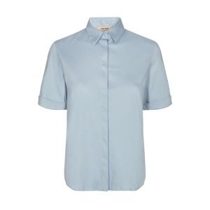 MOS MOSH Bluse Marta Jersey Shirt  Celestial blue