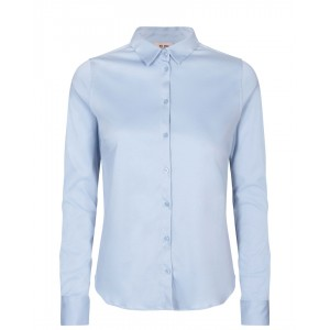 MOS MOSH Bluse Tina Jersey Shirt  Celestial blue