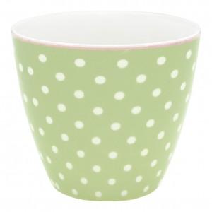 GreenGate Latte Cup Spot pale green