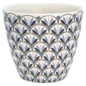 GreenGate Latte Cup Victoria white