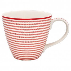 GreenGate Henkelbecher Thea red
