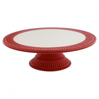 GreenGate Kuchenplatte Alice red
