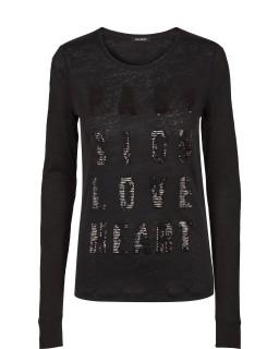 MOS MOSH Langarmshirt - Crave long Tee - black