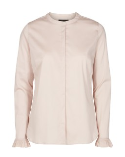 MOS MOSH - Bluse - Mattie Shirt - Rüschenbluse - light rose