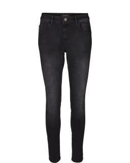 MOS MOSH - Jeans Breadford Stone mit Strasssteinbesatz Schwarz