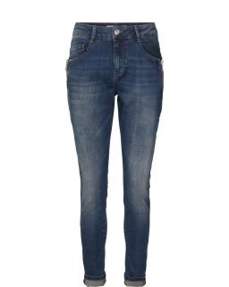 MOS MOSH Hose - Bradford Zip Jeans blue denim