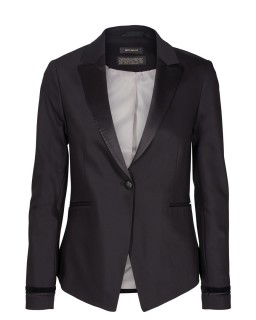 MOS MOSH - BLAKE Smoking Blazer - black