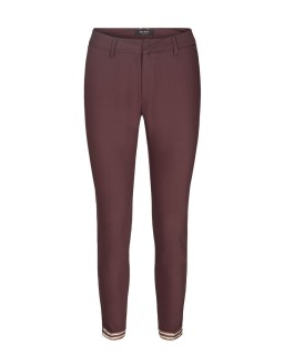 MOS MOSH Hose - Abbey Zip Pant chocolate