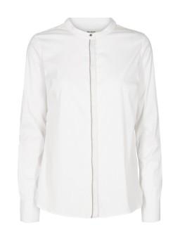MOS MOSH Bluse Maggie Shine Ribbon white