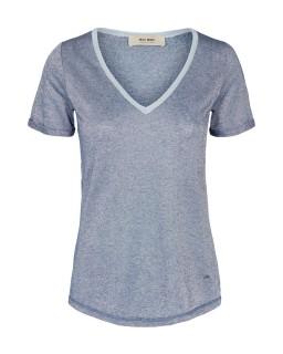 MOS MOSH - Shirt Casio Tee indigo blue