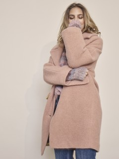 Sale MOS MOSH Mantel Manny Wool Coat vintage rose