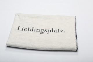 """Fussenegger Decke """"Lieblingsplatz"""""""