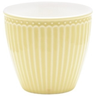 GreenGate Latte Cup Alice pale yellow
