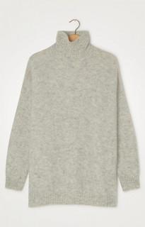 American Vintage Strickpullover Zabidoo light grey