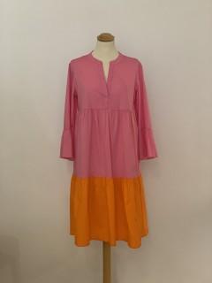 Emily van den Bergh Stufenkleid orange/pink