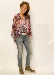 Bluse Narli Batikprint