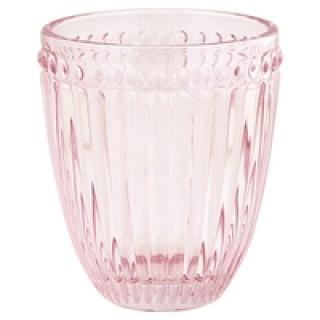 GreenGate Wasserglas Alexa pale pink