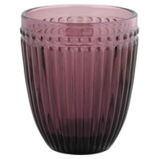GreenGate Wasserglas Alexa plum