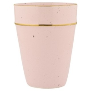 GreenGate Becher pale pink with gold