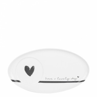 Bastion Collection Teller oval 'Have a lovely day'