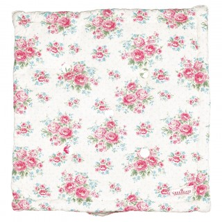 GreenGate Sitzkissen 'Box Cushion' Tess white