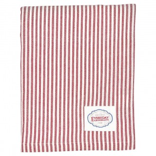 GreenGate Tischdecke Alice stripe red 145x250cm