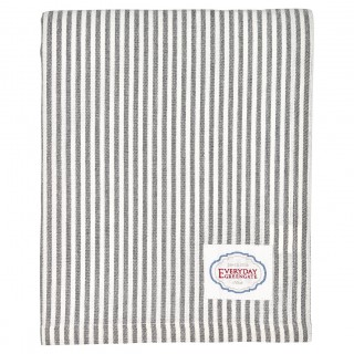 GreenGate Tischdecke Alice stripe grey 145x250cm