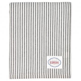 GreenGate Tischdecke Alice stripe grey 145x250cm