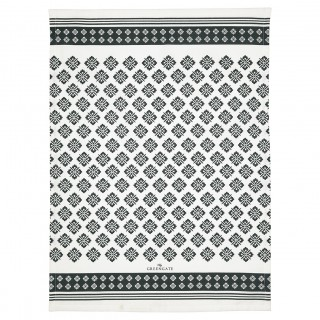GreenGate Geschirrtuch Print Jackie dark grey