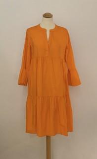 Emily van den Bergh Stufenkleid orange