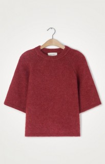 American Vintage Strickpullover East rot