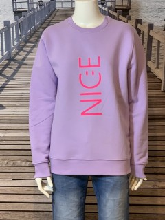 JULOVE Sweater 'Nice' lavendar