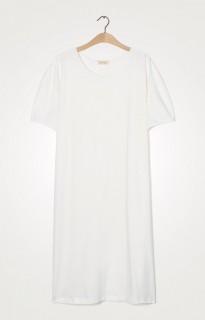 American Vintage SweatShirt Kleid Rita ecru