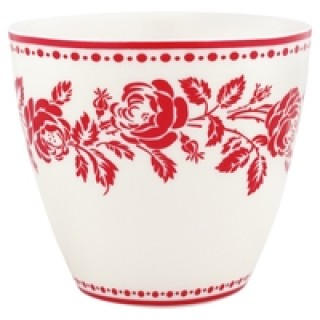 GreenGate Latte Cup Fleur red