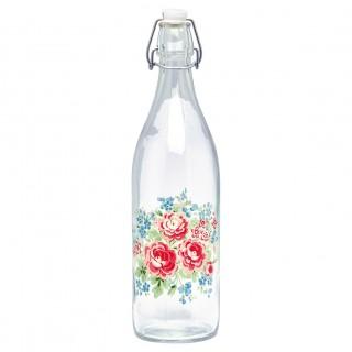 GreenGate Glasflasche Tess white