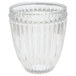 GreenGate Wasserglas Alice clear