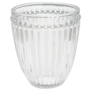 GreenGate Wasserglas Alice clear