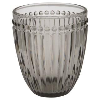 GreenGate Wasserglas Alice grey