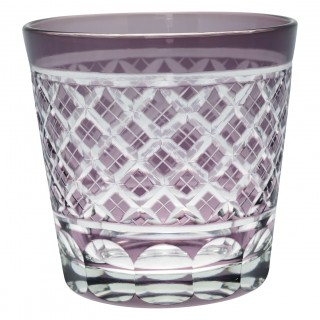 GreenGate Wasserglas Cross Lavendar Crystal medium
