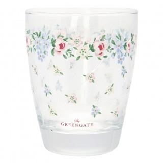 GreenGate Wasserglas Melina white