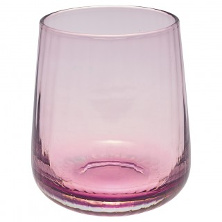 GreenGate Wasserglas Flute small plum